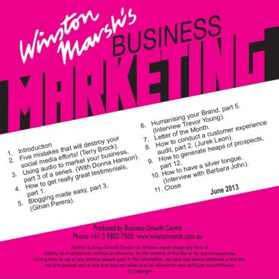 Business Marketing Monthly
