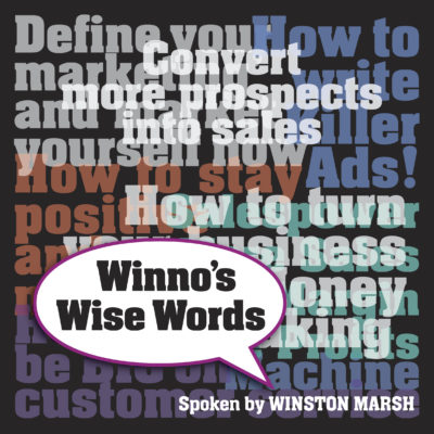 Winno's Wise Words